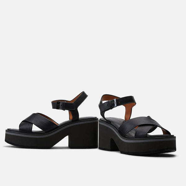 clergerie - SANDALS CHARLINE, BLACK