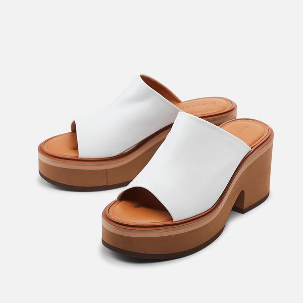 clergerie - MULES CESSY, WHITE