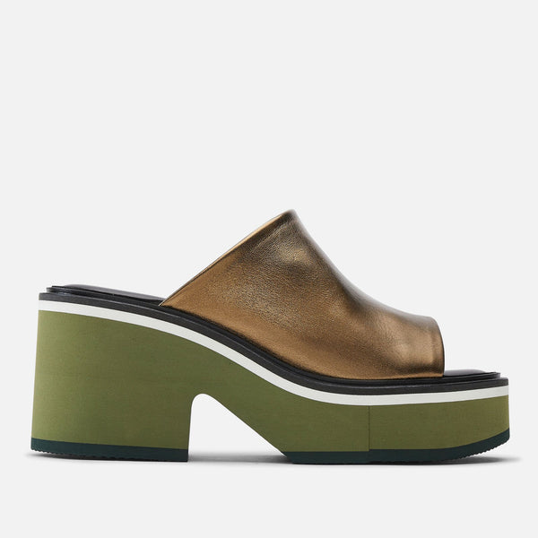 clergerie - MULES CESSY, GREEN