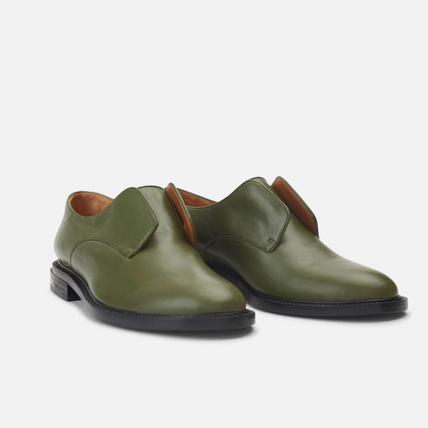 clergerie - DERBIES RAYANE, GREEN