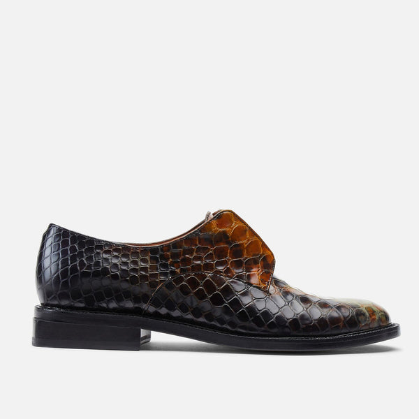 clergerie - DERBIES RAYANES, ANIMAL PRINTED