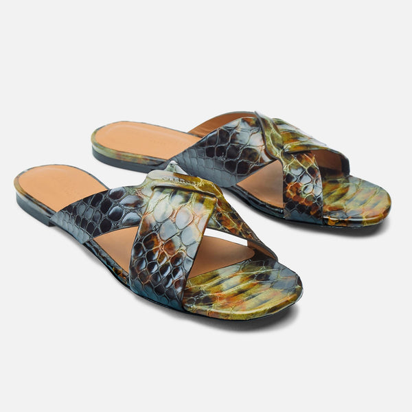 clergerie - MULES ISSYS, ANIMAL PRINTED