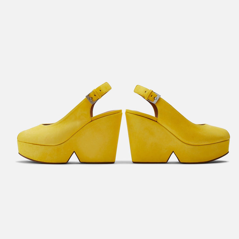 clergerie - SANDALS DYLAN, YELLOW