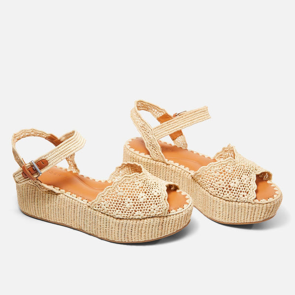 clergerie - SANDALS AIMIE, NATURAL