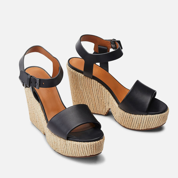 clergerie - SANDALS DAPRYL, BLACK