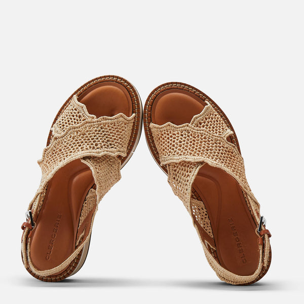 clergerie - SANDALS FEEL, CAMEL