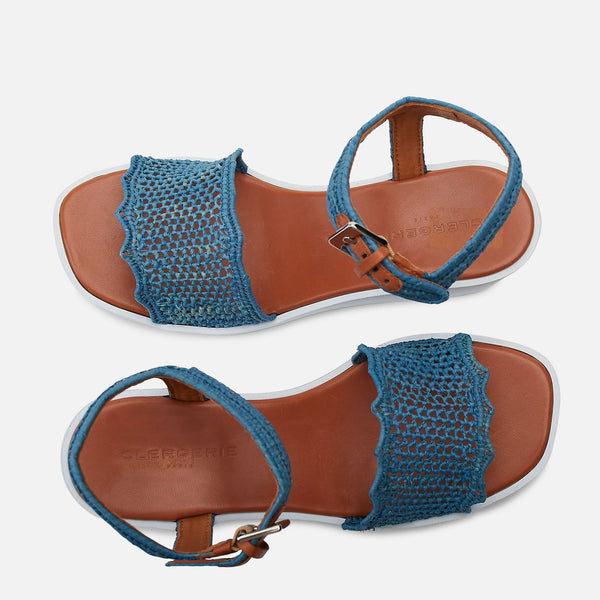clergerie - SANDALS SALLY, BLUE