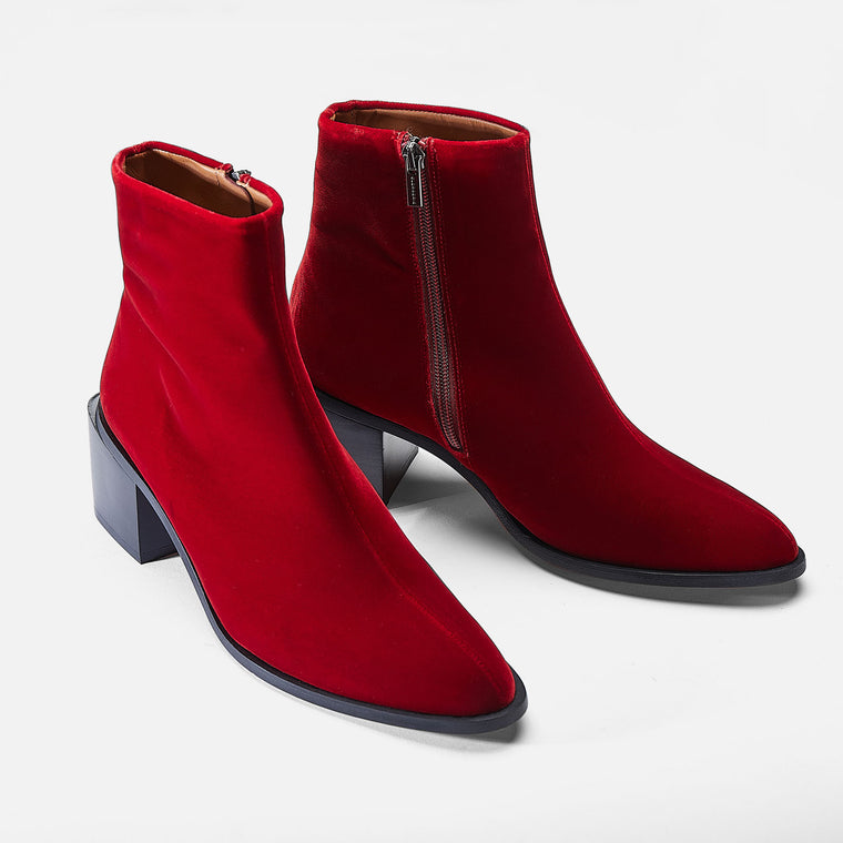 clergerie - ANKLE BOOTS XENIAT, RED