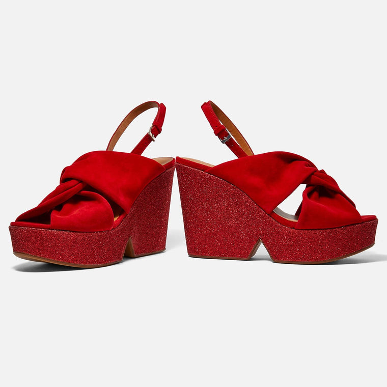 clergerie - SANDALS DIXIESV, POPPY-RED