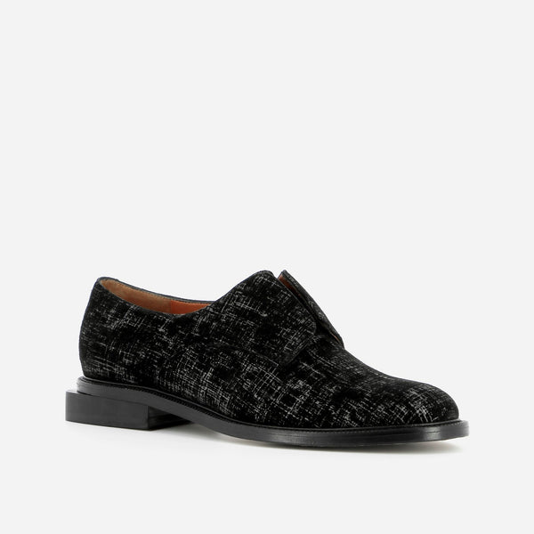 clergerie - DERBIES RAYANE, BLACK GRAPH