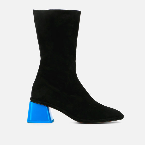 clergerie - BOOTS TARA, BLACK & BLUE
