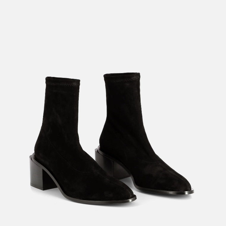 clergerie - ANKLE BOOTS XIAL, BLACK SUEDE