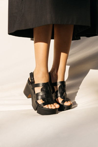 clergerie - SANDALS CASEY, BLACK