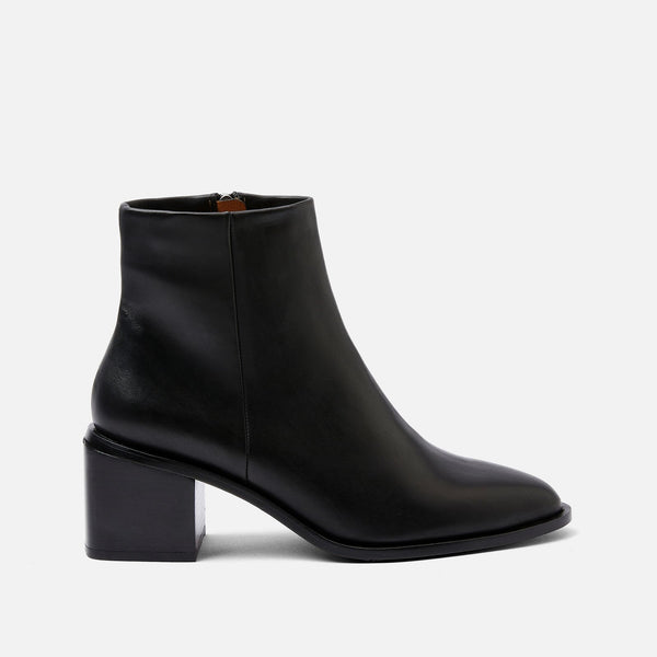 XENIA ANKLE BOOTS, BLACK