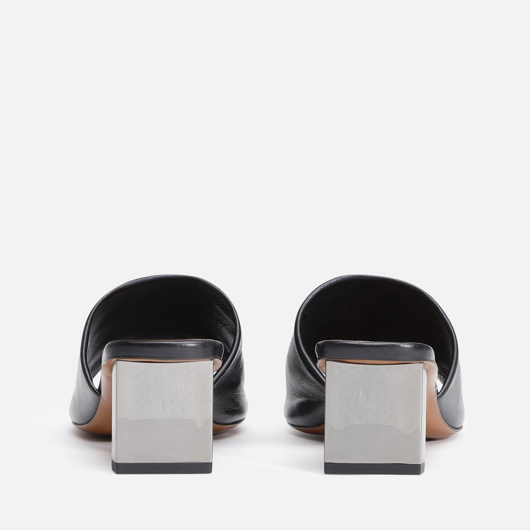 LEA MULES, BLACK - Clergerie Paris