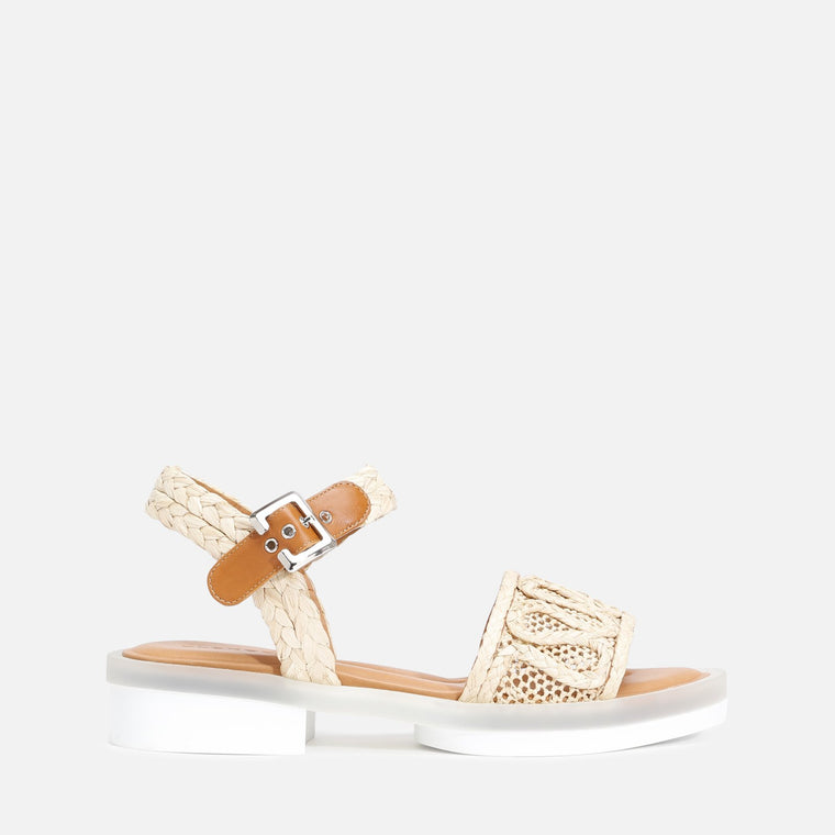 FELIPIE SANDALS, NATURAL
