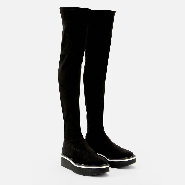 BOOTS BELLA, BLACK