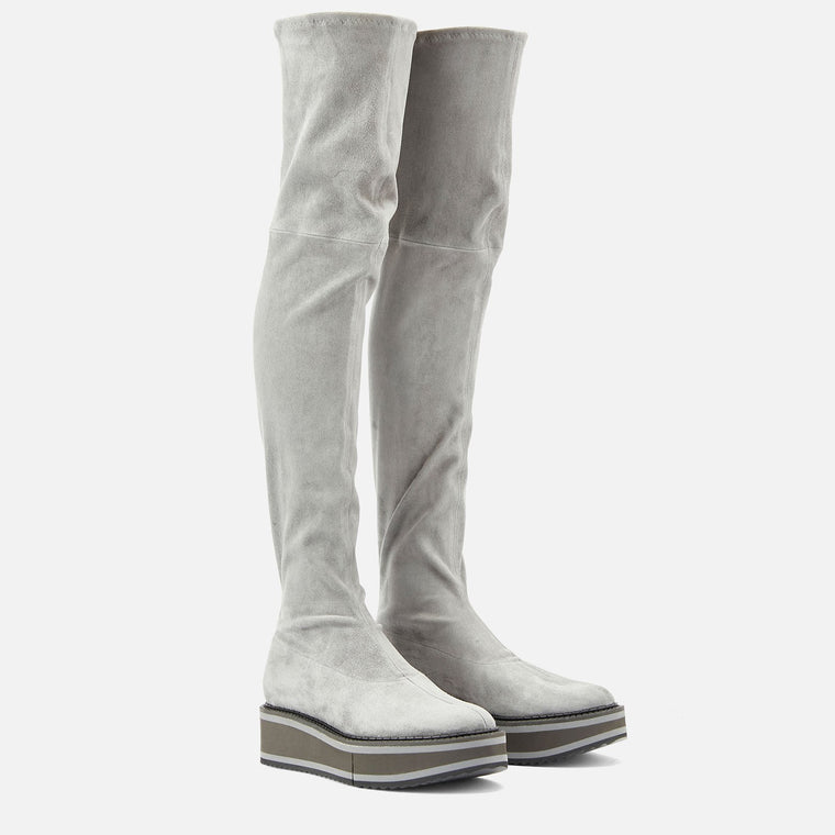 BOOTS BELLA, GREY