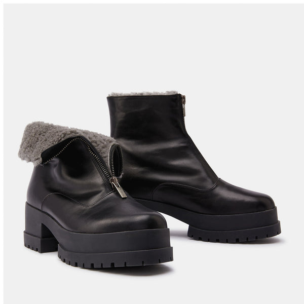 ANKLE BOOTS WYLLO, BLACK
