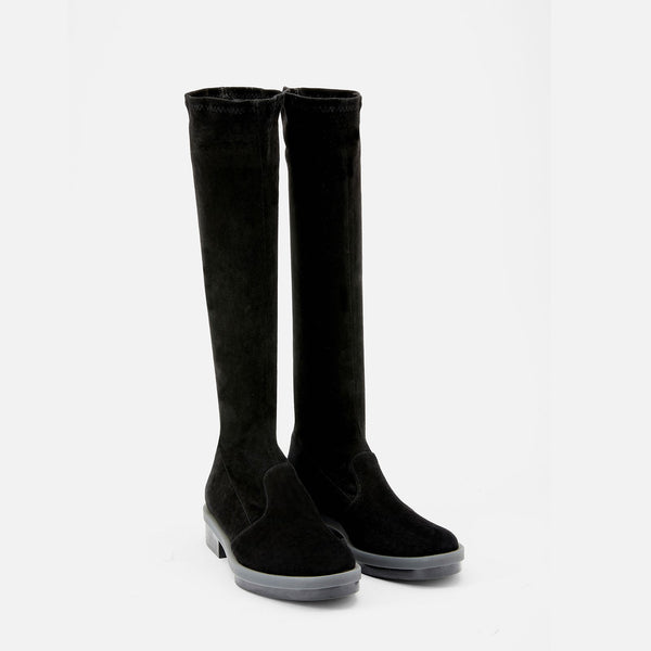 ANKLE BOOTS ROAD, BLACK