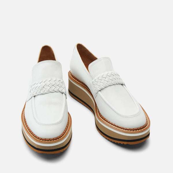 LOAFERS BALDIE, WHITE