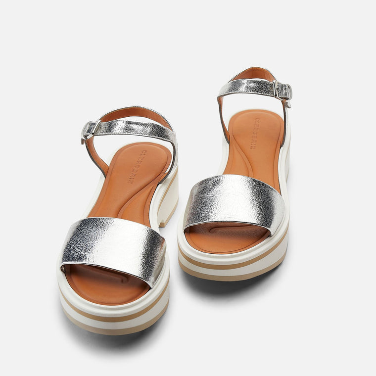 SANDALS FIONA, SILVER