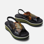 SANDALS FREEDOMS, ANIMAL PRINTED