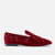 loafers olia red