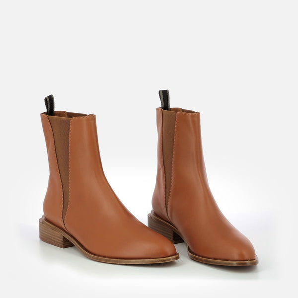 ANKLE BOOTS XAB, CAMEL