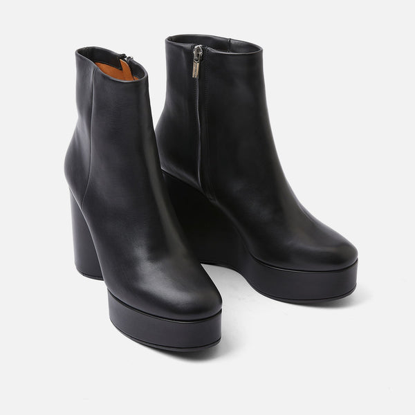BOTTINES BELEN, NOIR