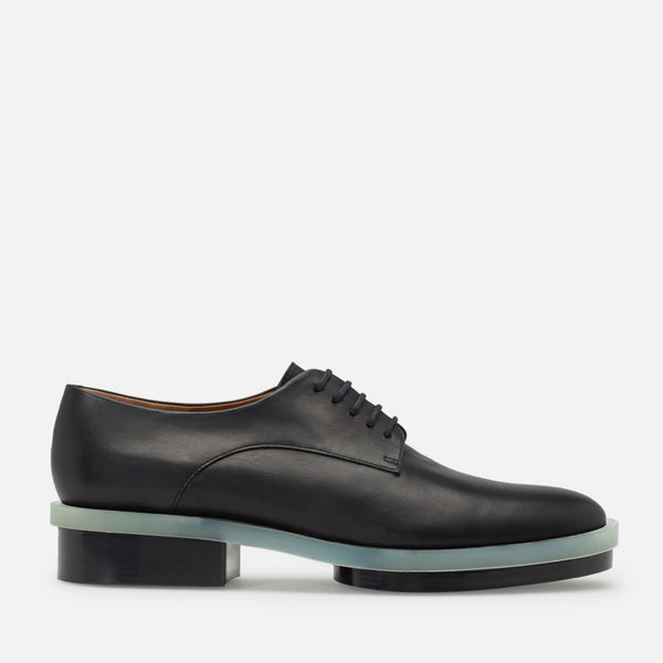DERBIES ROMA, AGNEAU NOIR