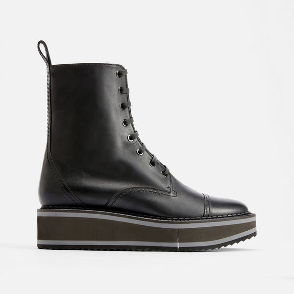 BOTTINES BRITISH, NOIR