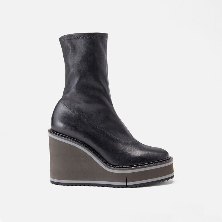 BOTTINES BLISS, NOIR