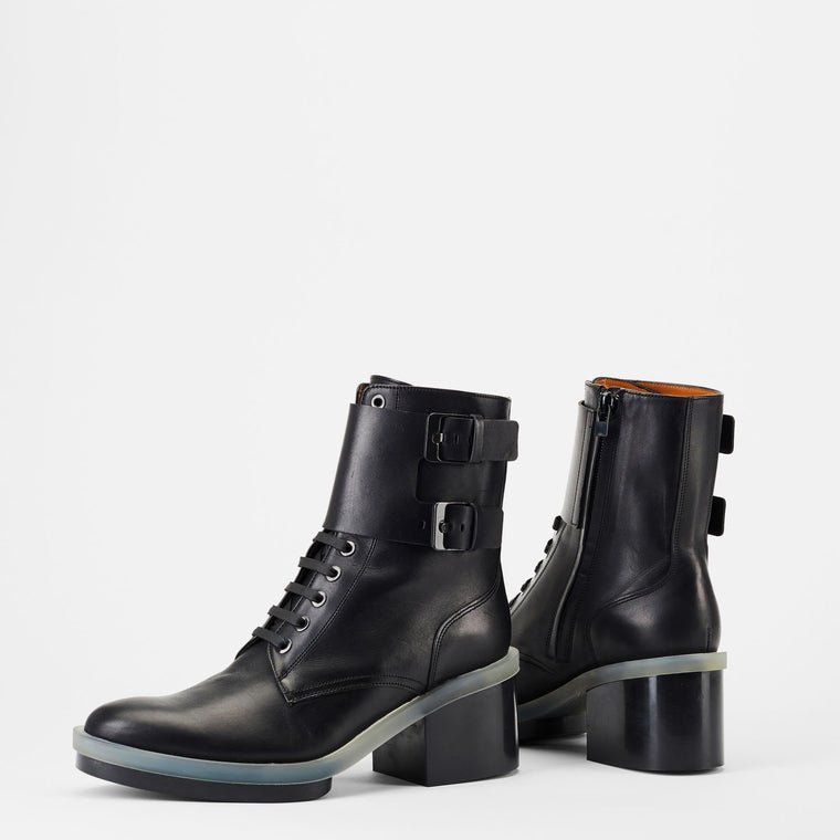 BOTTINES EDEN, NOIR