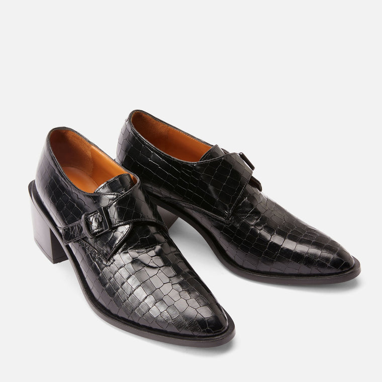DERBIES XARINA, NOIR