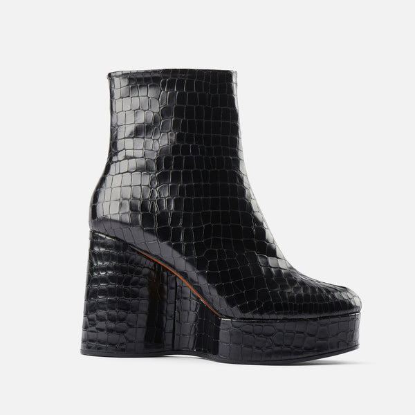 BOTTINES BLESS, NOIR