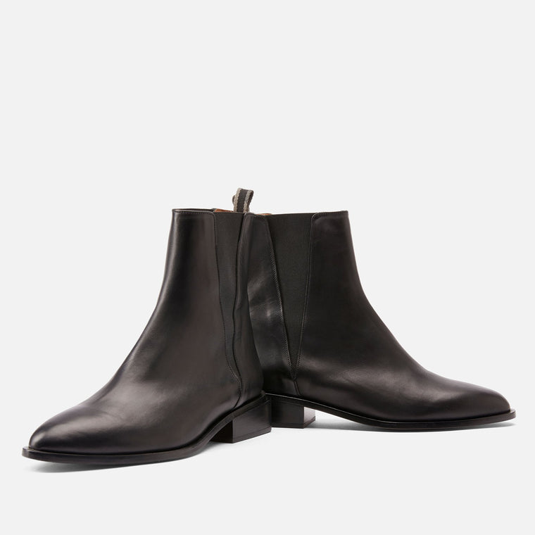 BOTTINES XAB, NOIR
