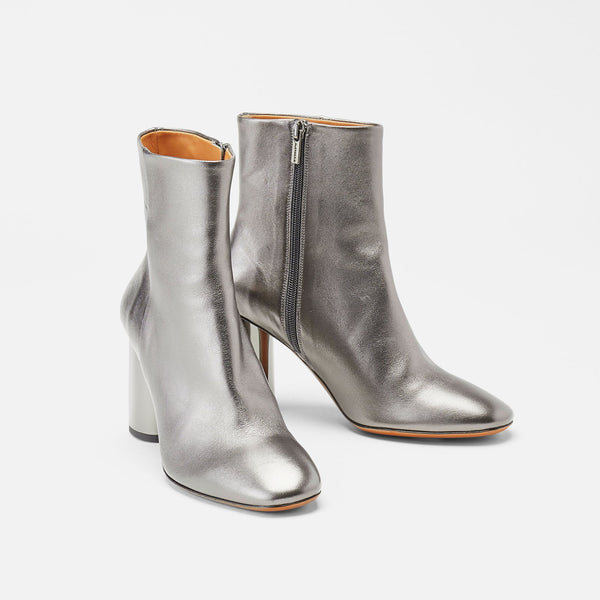 BOTTINES JUDIE, ARGENT