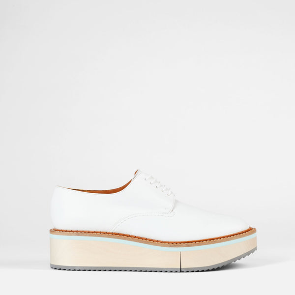 DERBIES BROOKW, BLANC