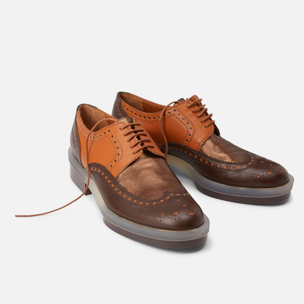 DERBIES RICHIE, MARRON