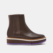 BOTTINES BOBBIE, MARRON
