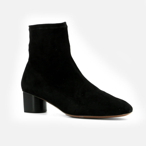 BOTTINES POLLIE, NOIR