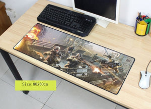 Tapis De Souris Xxl Warface Rocket Stream