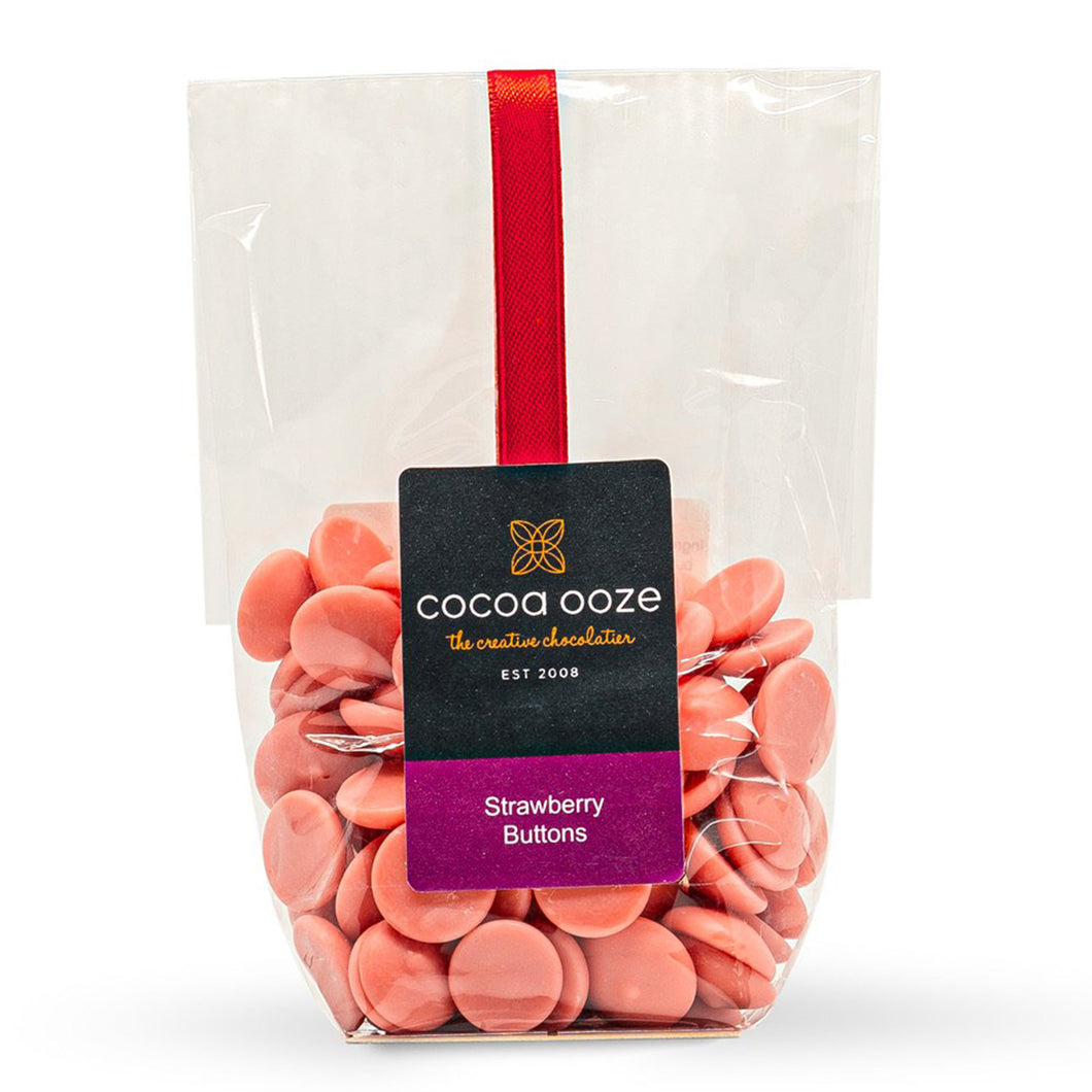 Strawberry Chocolate Buttons