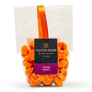 Orange Chocolate Buttons