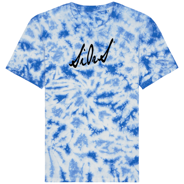 T-SHIRT SIORS® TIE & DYE BLEUE - SIORSCLOTHING