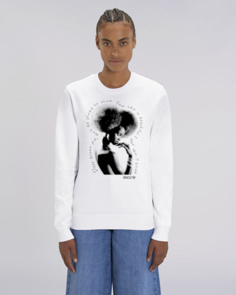 SWEATSHIRT SIORS® DIVINE AFRO - SIORSCLOTHING