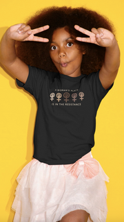 TEE SHIRT ENFANTS UNISEX 100% ORGANIC 🌿 SIORS® WOMAN'S RESISTANCE - SIORSCLOTHING