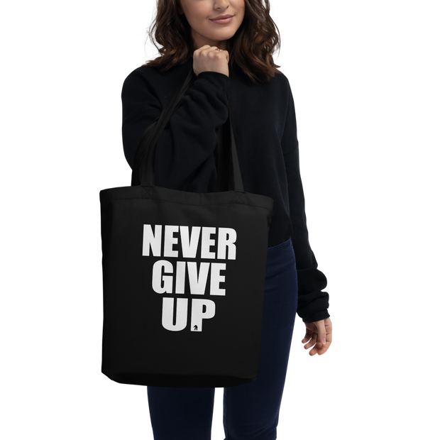 TOTE BAG BIO NEVER GIVE UP