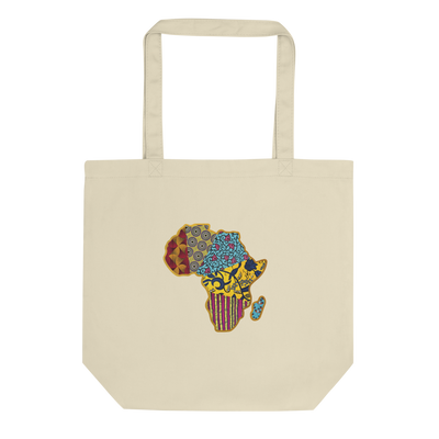 TOTE BAG BIO WAX AFRICA MAP - SIORSCLOTHING Vétements